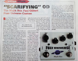 Vintage Guitar - Fuzz Custom Review