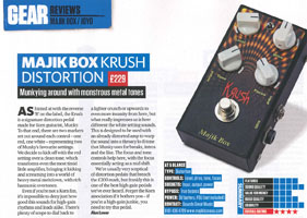 Total Guitar - Krush Review